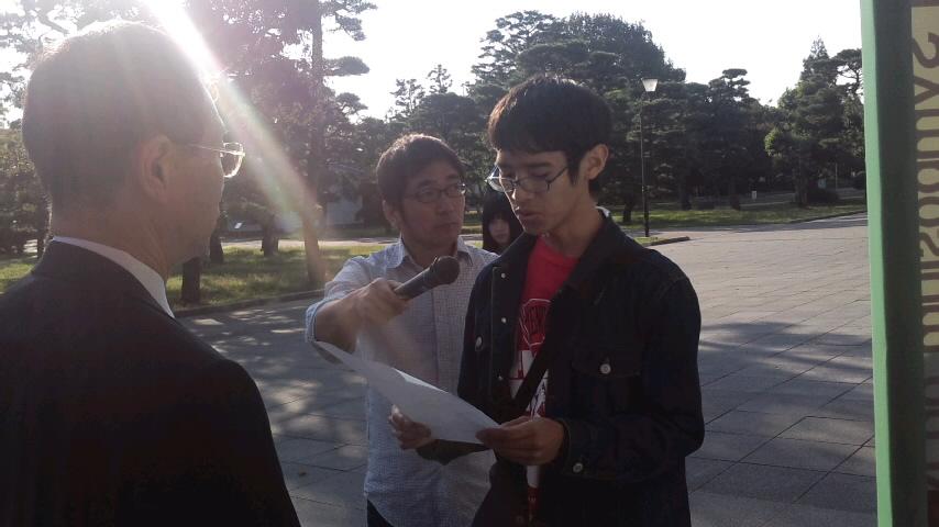 岡山大学で原発推進御用学者シンポジウム開催に対し抗議申し入れ行動_d0155415_15524671.jpg