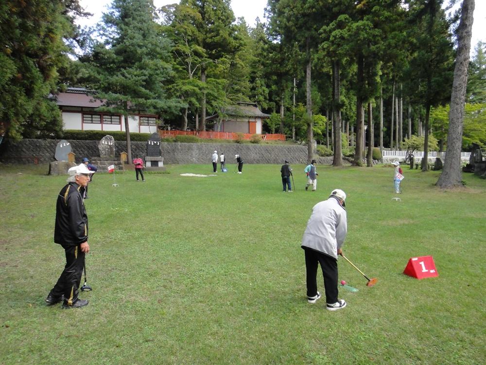 第三回グラウンドゴルフ大会_c0111229_20551158.jpg