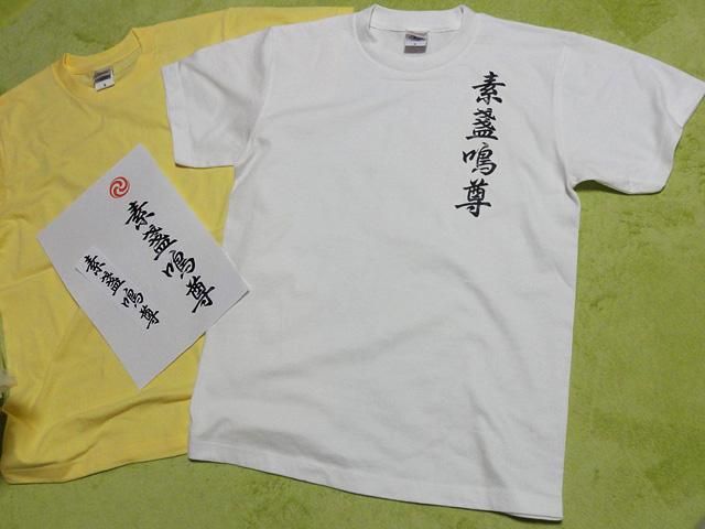 スサノオTシャツ(素盞嗚尊Tシャツ)、作ってみた。_b0006870_284838.jpg