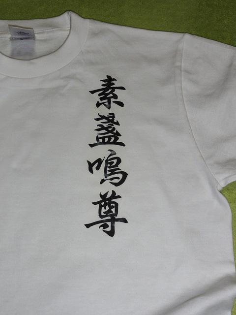 スサノオTシャツ(素盞嗚尊Tシャツ)、作ってみた。_b0006870_291218.jpg