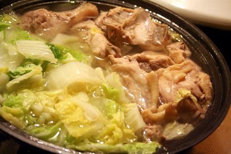 白菜と鶏肉のシンプル塩鍋 & 秋刀魚!!_f0141419_6121150.jpg