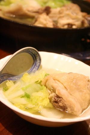 白菜と鶏肉のシンプル塩鍋 & 秋刀魚!!_f0141419_6122882.jpg