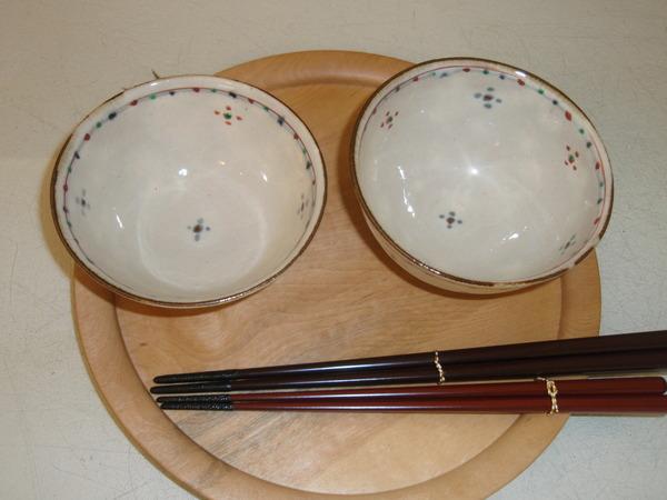 藤田佳三さんの個展   お皿と飯碗_b0132442_1546862.jpg