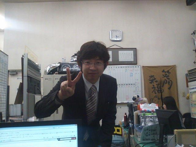 行政書士八重樫先生ご来店(^^)_b0127002_17504234.jpg