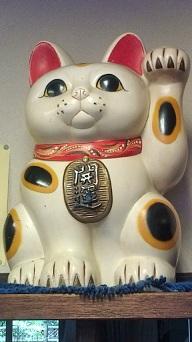 招き猫!_a0218119_1605366.jpg