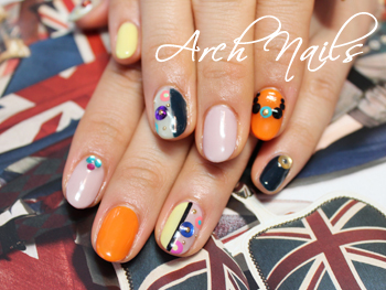 Colorful  nail_a0117115_0132984.jpg