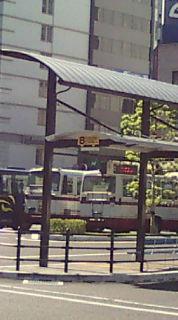福山駅前、廃業で揺れる井笠鉄道バス_e0094315_11312495.jpg