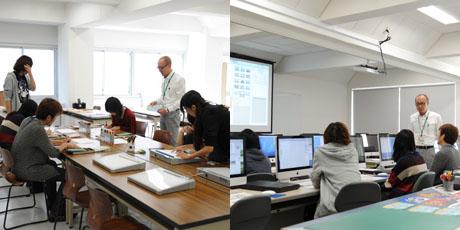 2012年10月13日,14日にNSCカレッジでは体験入学が開催 その1_b0110019_15524044.jpg