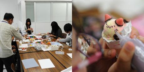2012年10月13日,14日にNSCカレッジでは体験入学が開催 その1_b0110019_15531747.jpg