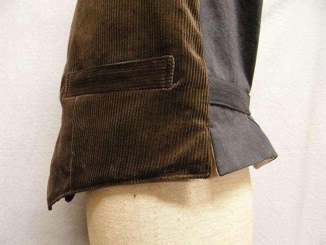 frenchwork corduroy vest_f0049745_1847011.jpg