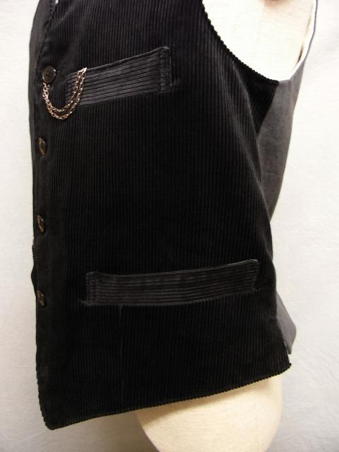 frenchwork corduroy vest_f0049745_18494418.jpg