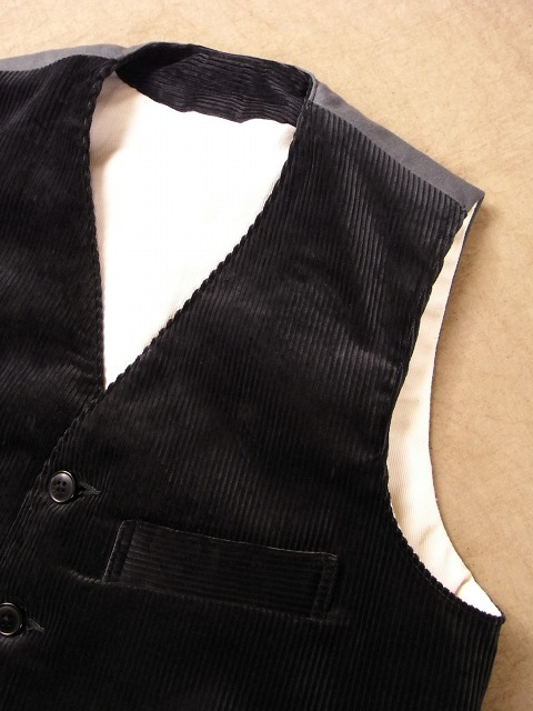frenchwork corduroy vest_f0049745_18503428.jpg