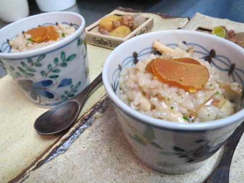 蕎麦米の松茸リゾット・・・_a0160153_23301135.jpg