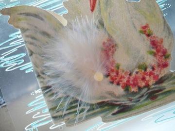 小ちゃなvintage誕生日カードとキャンドル _e0183383_694313.jpg