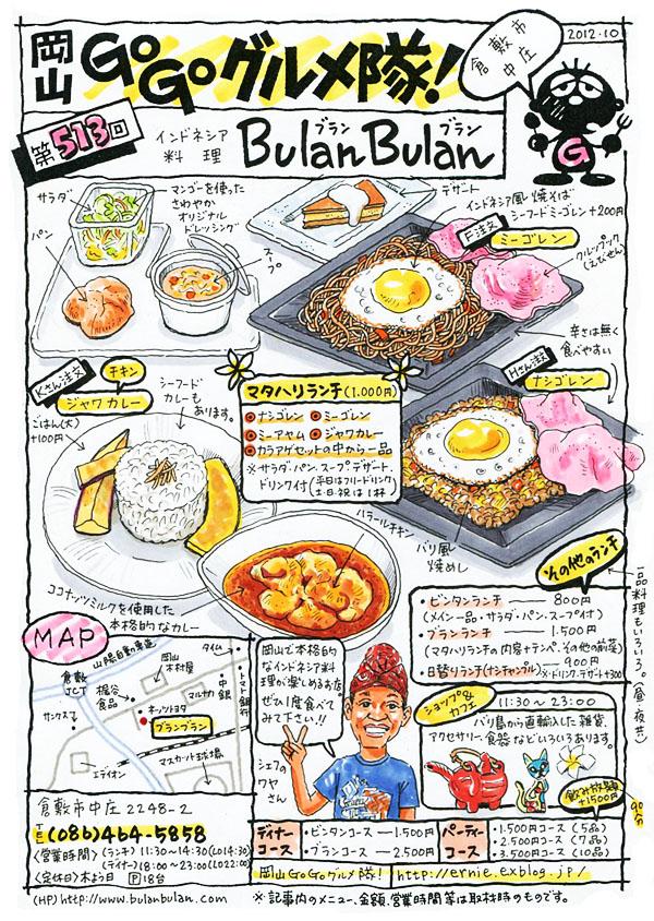 インドネシア料理 BULAN BULAN (ブラン・ブラン)_d0118987_1037686.jpg