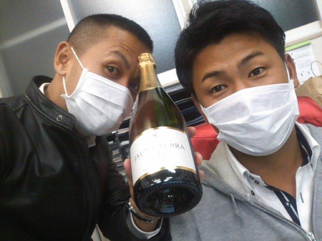 シャンパン発見。_b0127002_18244547.jpg