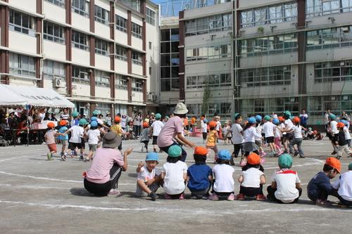 子どもたちの運動会_e0123104_7531180.jpg