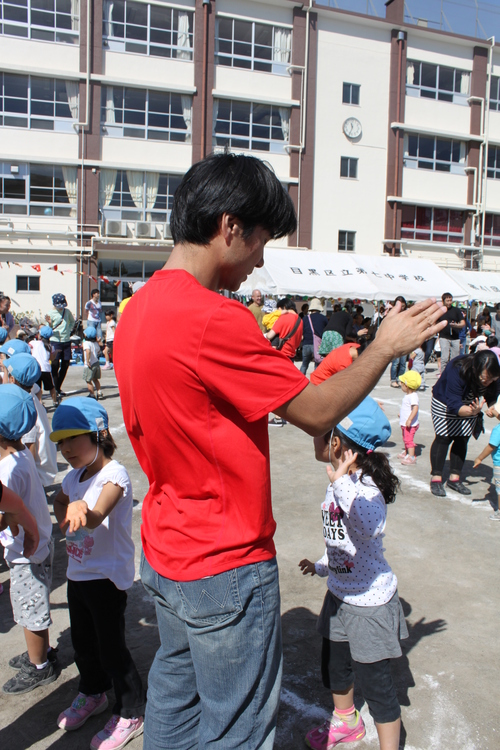 子どもたちの運動会_e0123104_864627.jpg