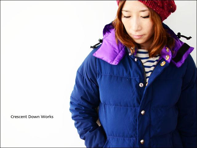 Crescent Down Works [クレセントダウンワークス] 60/40 ダウンジャケット /ダウンベスト LADY\'S _f0051306_14413420.jpg