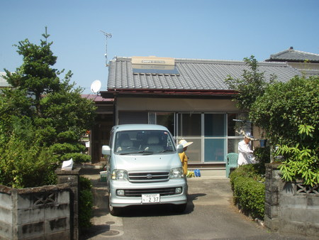 宮崎市Y様邸車庫増設工事_b0236217_1245516.jpg