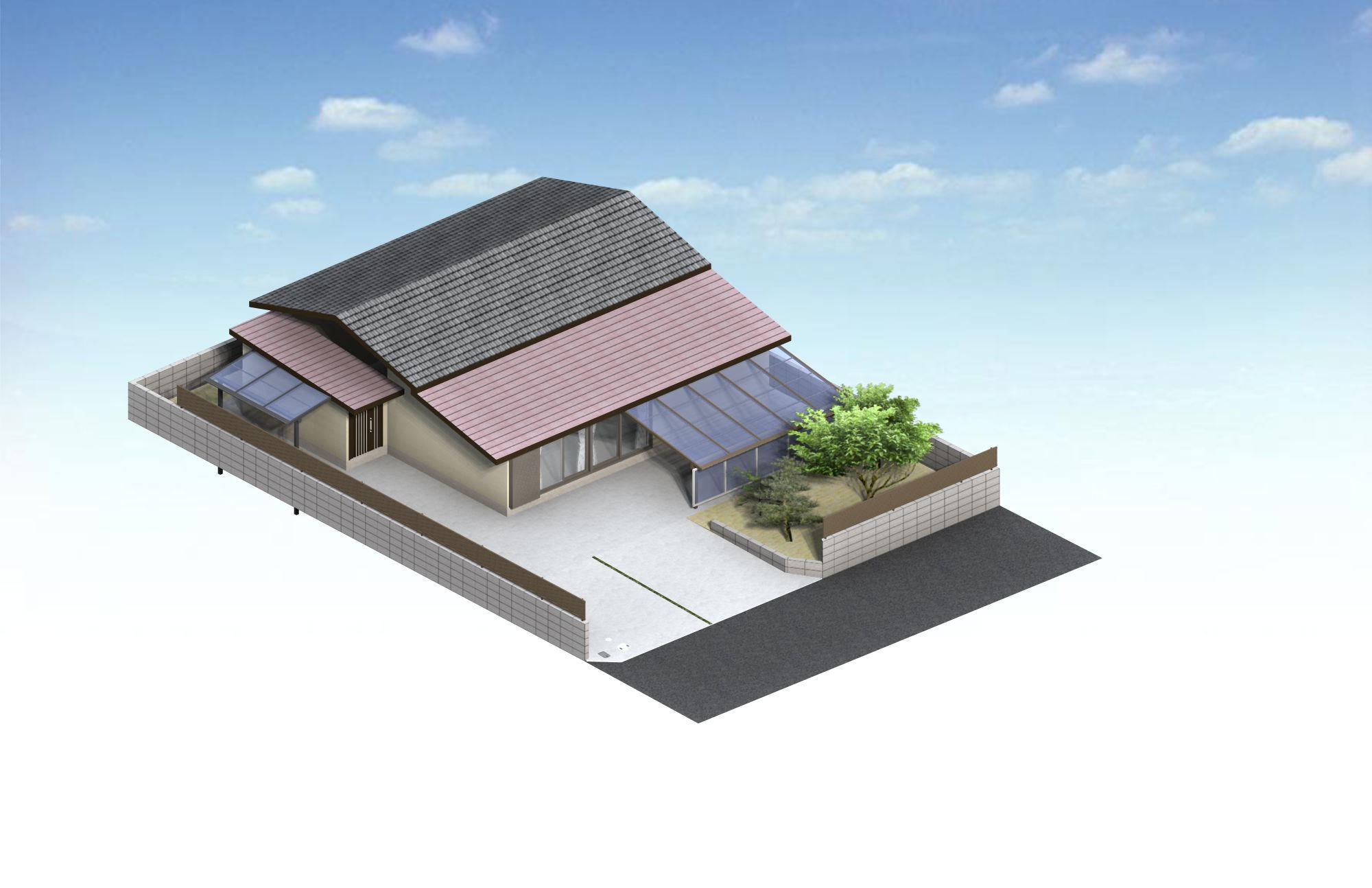 宮崎市Y様邸車庫増設工事_b0236217_1249527.jpg