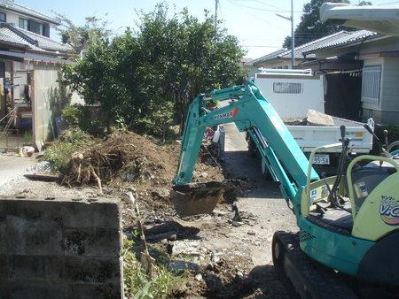 宮崎市Y様邸車庫増設工事_b0236217_12511852.jpg