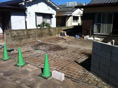 宮崎市Y様邸車庫増設工事_b0236217_12555653.jpg