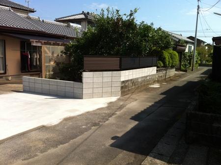 宮崎市Y様邸車庫増設工事_b0236217_1352292.jpg