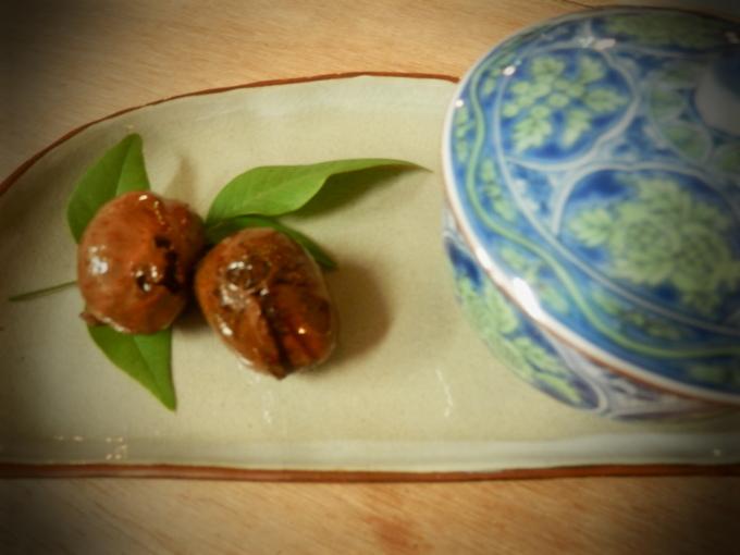 「耳納豚と(栗)の豆乳グラタン」作り☆_a0125419_8313145.jpg