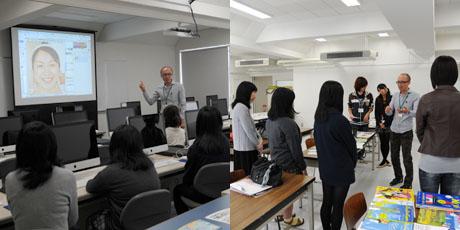 2012年10月13日,14日にNSCカレッジでは体験入学が開催 その4_b0110019_1604697.jpg