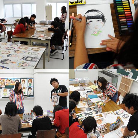 2012年10月13日,14日にNSCカレッジでは体験入学が開催 その4_b0110019_1611688.jpg