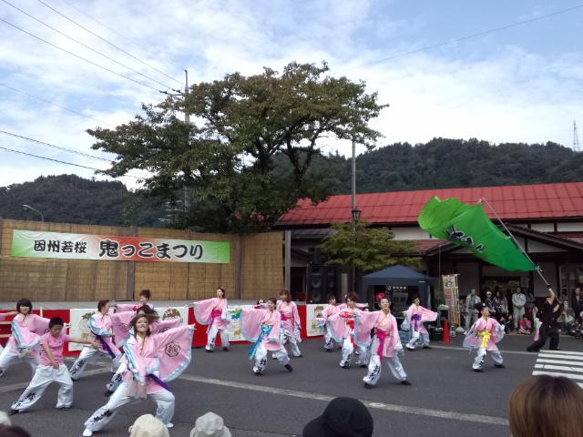 【 因州若桜 鬼っこまつり 】_f0101226_2223925.jpg