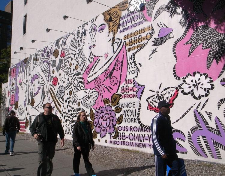 ブルックリンにてAikoの壁画に見惚れます@NYC_a0077842_218259.jpg