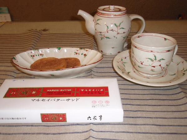 藤田佳三さんの個展  ポットやカップ_b0132442_197914.jpg
