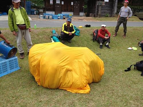 山岳救助隊訓練_b0161750_22441575.jpg