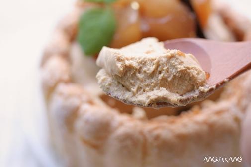 洋梨ブランデー&キャラメルムースのケーキ♪ _d0098954_22413319.jpg