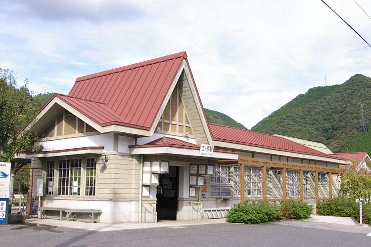 鉄道遺産 吉ヶ原駅(1)_f0130879_23552139.jpg