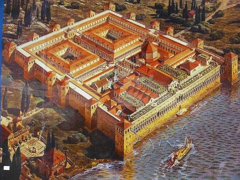中欧家族旅行2012年08月-第四日目-スプリット・ディオクレティアヌス宮殿散策(I)_c0153302_14382934.jpg