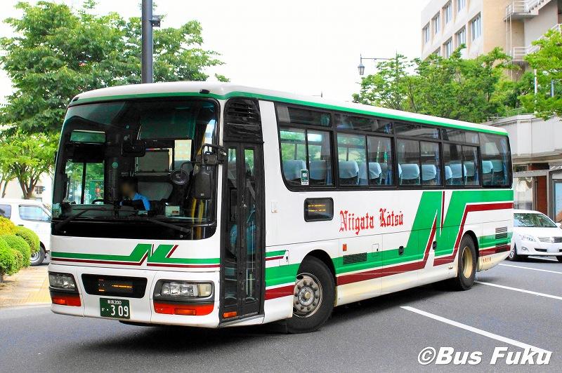 新潟交通:新潟200か309 : バスふく|福島県内のバス写真