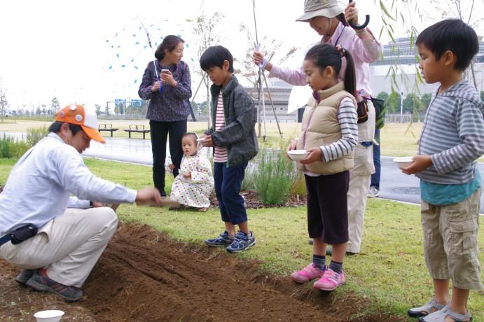 『菜の花の種をまこう』 開催しました_e0235911_12584843.jpg