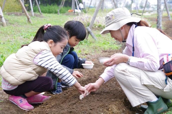 『菜の花の種をまこう』 開催しました_e0235911_1331242.jpg