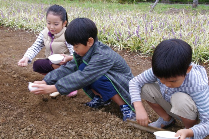 『菜の花の種をまこう』 開催しました_e0235911_1354376.jpg