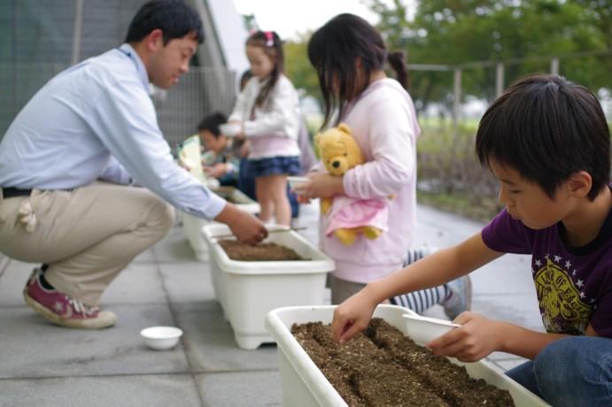 『菜の花の種をまこう』 開催しました_e0235911_1364918.jpg