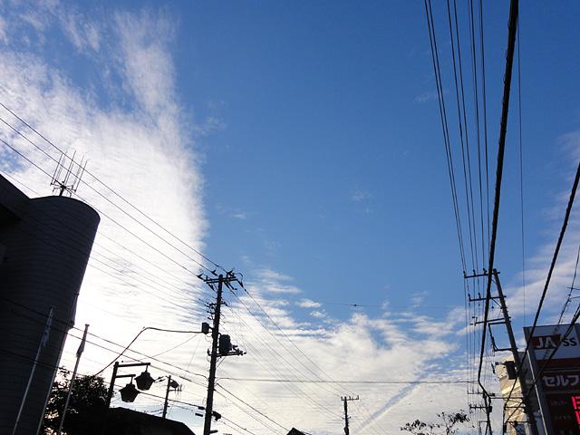 虹・・・ 幻日&タンジェントアーク?(10/8) そして波状雲(10/13)_b0006870_128461.jpg