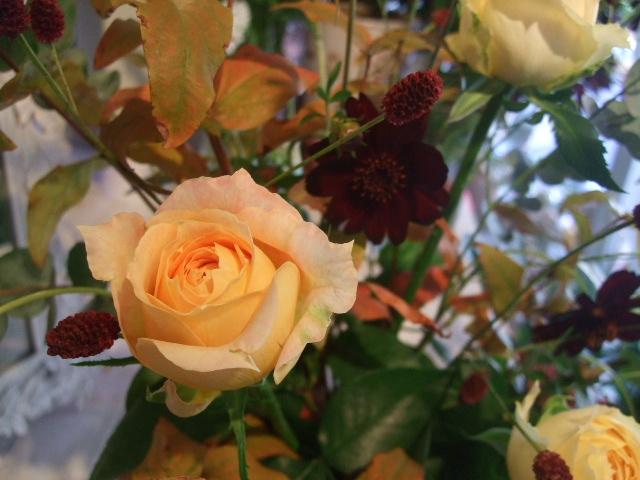 オークリーフ花の教室(清水さんと安藤さんの作品)_f0049672_17133862.jpg