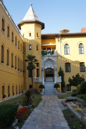 ヨーロッパ通信⑩「イスタンブール・Four SeasonsHotel Istanbulとレストラン・セブルヒルズ」。」_a0138976_16291100.jpg