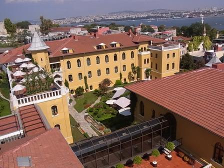 ヨーロッパ通信⑩「イスタンブール・Four SeasonsHotel Istanbulとレストラン・セブルヒルズ」。」_a0138976_16291625.jpg