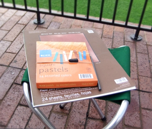 ニューヨークの公園でやってる無料の野外アート・クラス_b0007805_7221.jpg