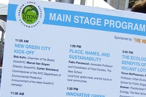 NYの青空市場の運営団体によるエコ・イベント NEW GREEN CITY_b0007805_984524.jpg