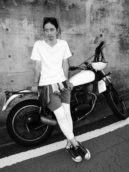 藤田 将之 & kawasaki 250TR(2012 0913)_f0203027_9182213.jpg